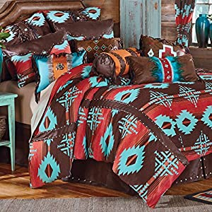 Black Forest Decor Rustic Country Western Bed Set for Queen, King, Full, Twin Size Cabin Bedding