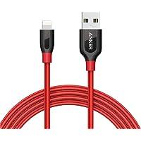 Cabo Lightning Certificado Apple MFi, Anker Powerline+, 1.8 metros, 6x mais resistente, Vermelho