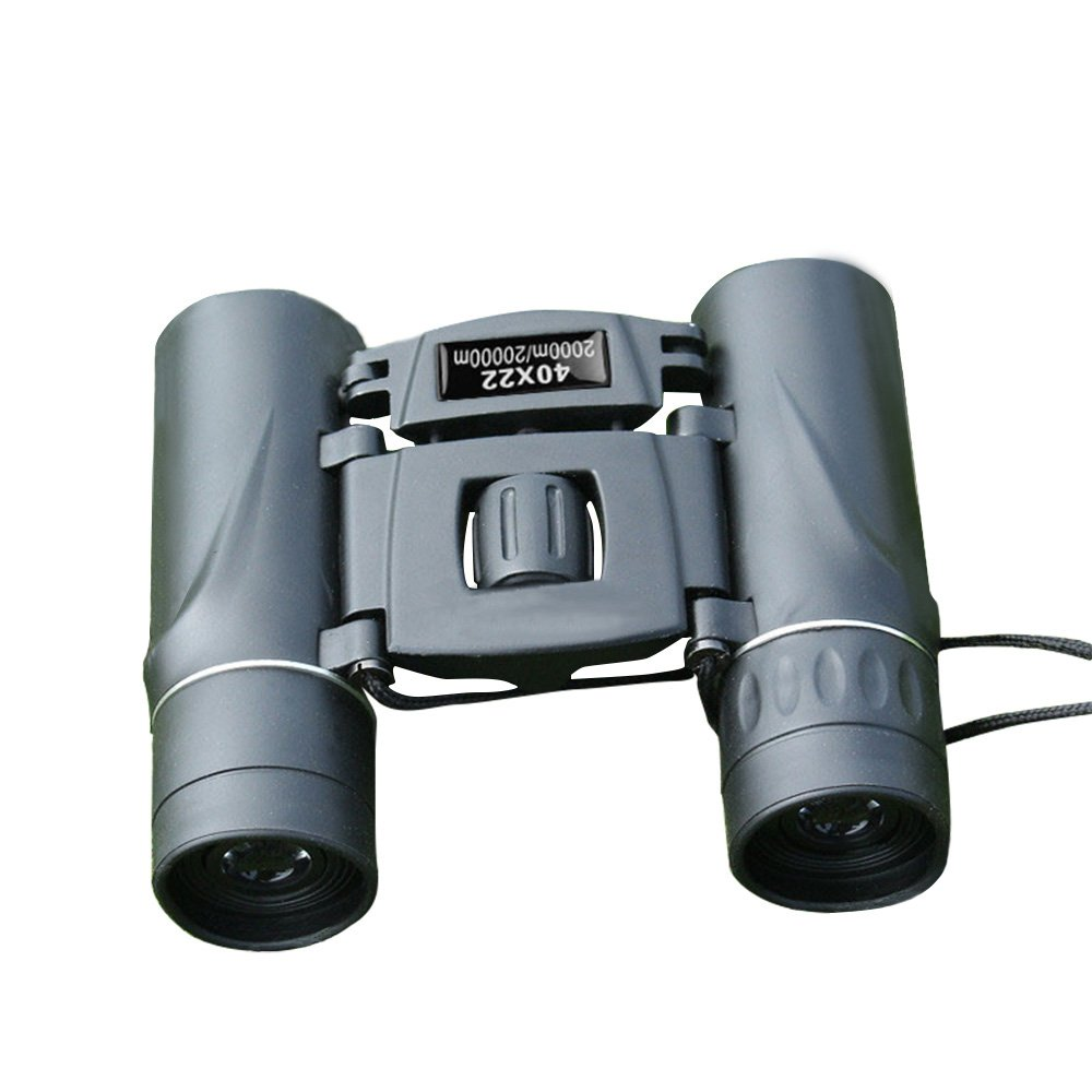 DUYI Smallコンパクト軽量双眼鏡、大人と子供用、4022 Folding High Powered双眼鏡Weakライトナイトビジョンfor Bird Watching、ハンティング、アウトドアスポーツ、コンサート B07DPMM89C