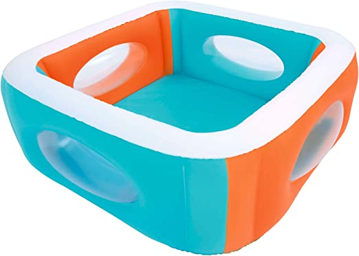 Bestway 51132 - Piscina Hinchable Infantil Window 168x168x56 cm: Amazon.es: Jardín