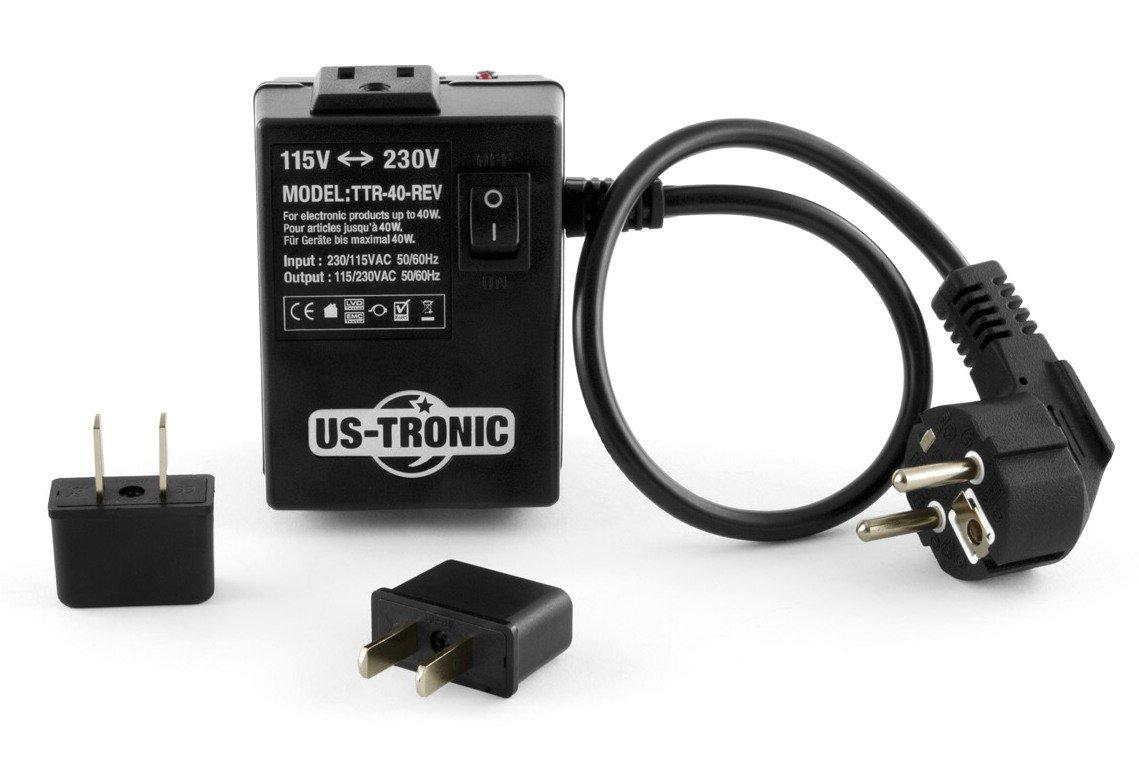 Watt Transformador de tensión 110 V-220 V, reversible, 40 - 80 W: Amazon.es: Electrónica