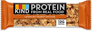 product image for KIND, PRTN BAR, CRNCHY PNUT BTTR, Pack of 12, Size 1.76 OZ - No Artificial Ingredients Gluten Free Wheat Free Yeast Free