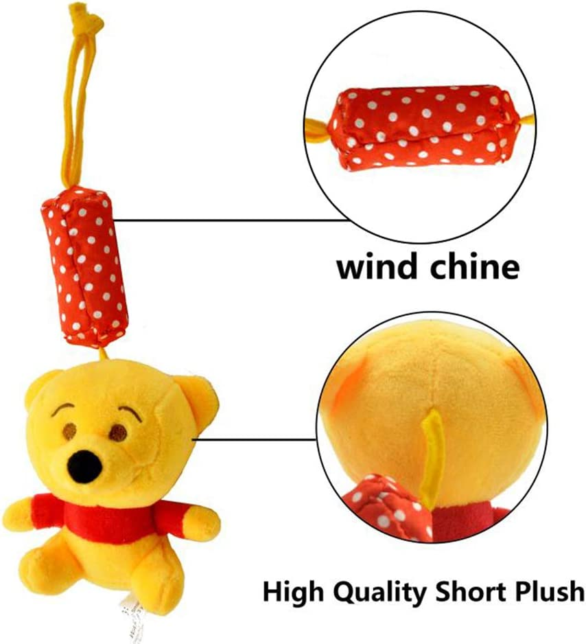 Rattle Activity Soft Plush Animal Stroller and Hanging Toy for Infants Car Seat Crib with Teether Piglet and Donkey VANVENE Baby Toys for 0 3 6 9 to 12 Months Sensory Learning Toy
