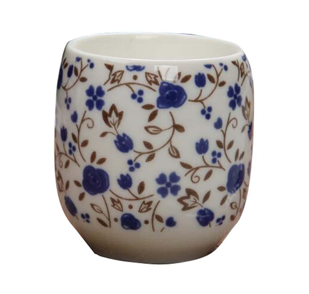 DRAGON SONIC Set Of 4 Retro Sake Cups Ceramics Cup Household Use/Restaurant Tea Cup-C5