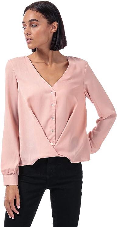 Vero Moda Karola - Blusa para mujer, color rosa: Amazon.es: Ropa