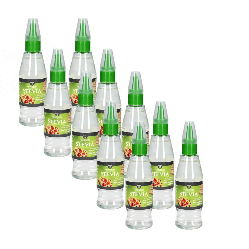 BFF Stevia Flüssig Süße 10x125ml: Amazon.de: Lebensmittel & Getränke