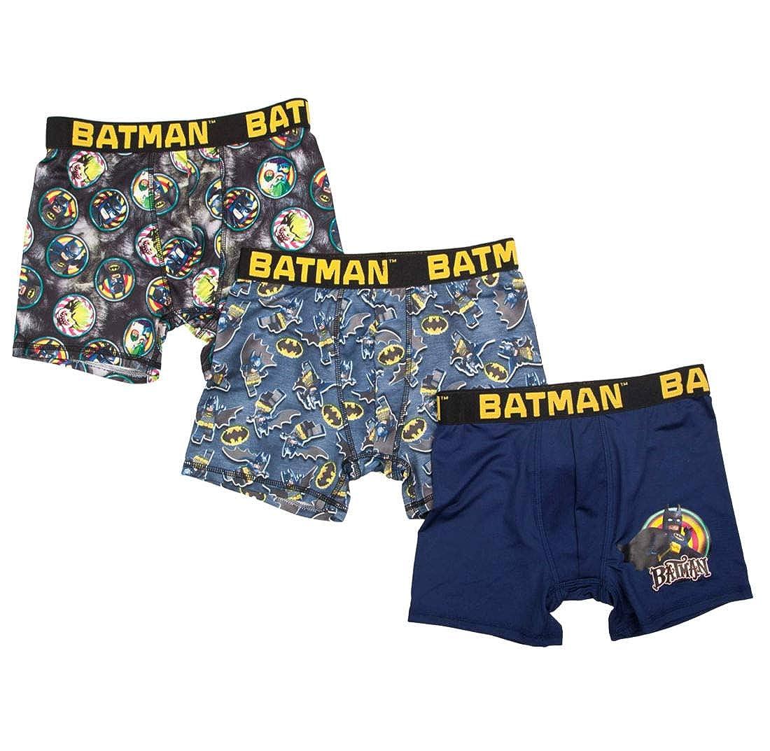 Medium 8 Boys Lego Batman 3 Pack Boxer Briefs
