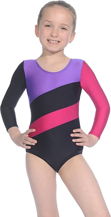 Roch Valley Three Tone Gymnastics or Dance Leotard HOP