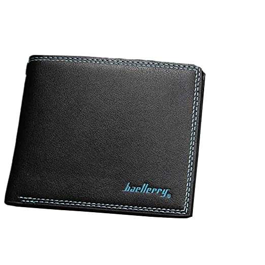 Father/'s Day gift Fashion Men/'s Leather Wallet ID Credit Card Holder Billfold Pu