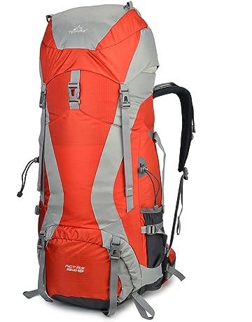 Tofine External-Frame-Backpacks Rain Cover Waterproof Nylon 45L55L65L Hiking  Camping Mountaineering Bag 25f8ade86ead3