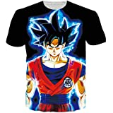 Anime Mangas Japonais Premium 100/% Cotton T-Shirt GMYG Air Son Goku Dragon Ball Z