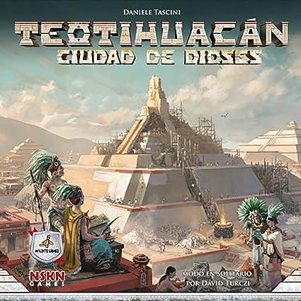 Maldito Games TEOTIHUACAN - Ciudad DE Dioses: Amazon.es: Juguetes y juegos