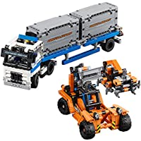 631-Piece LEGO Technic Container Yard Building Kit