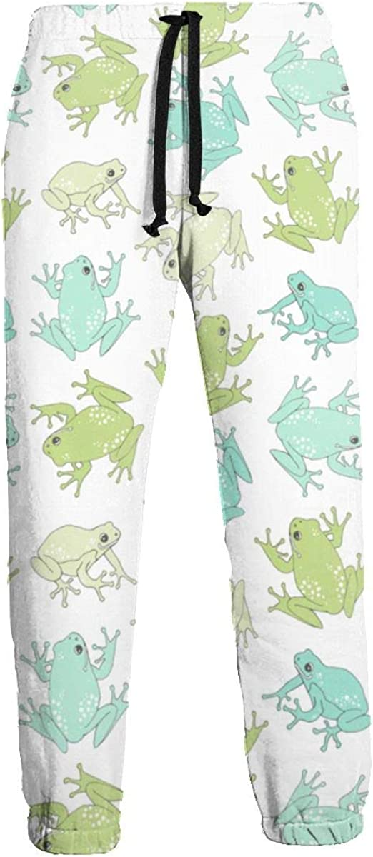 KATERN Cute Frog Men//Women Sweatpants Funny Pants Sports Trousers with Drawstring