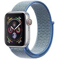 Corki Per Cinturino Apple Watch 38mm 40mm 42mm 44mm, Morbido Nylon Cinturino di Ricambio per iWatch Apple Serie 4, Serie 3, Serie 2, Serie 1
