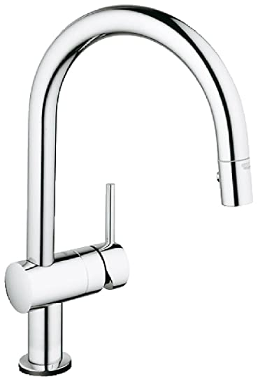 Minta Touch Single Handle Pull Down Kitchen Faucet