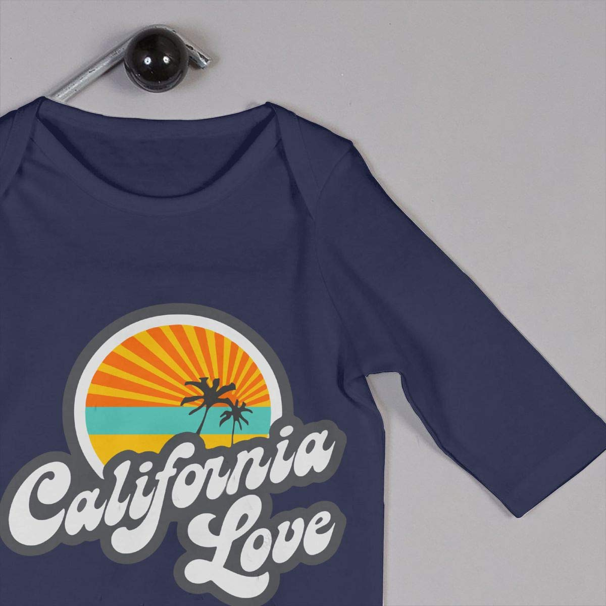 LBJQ8 California Infant Baby Girl Boys Soft /& Breathable Bodysuit Romper Jumpsuit