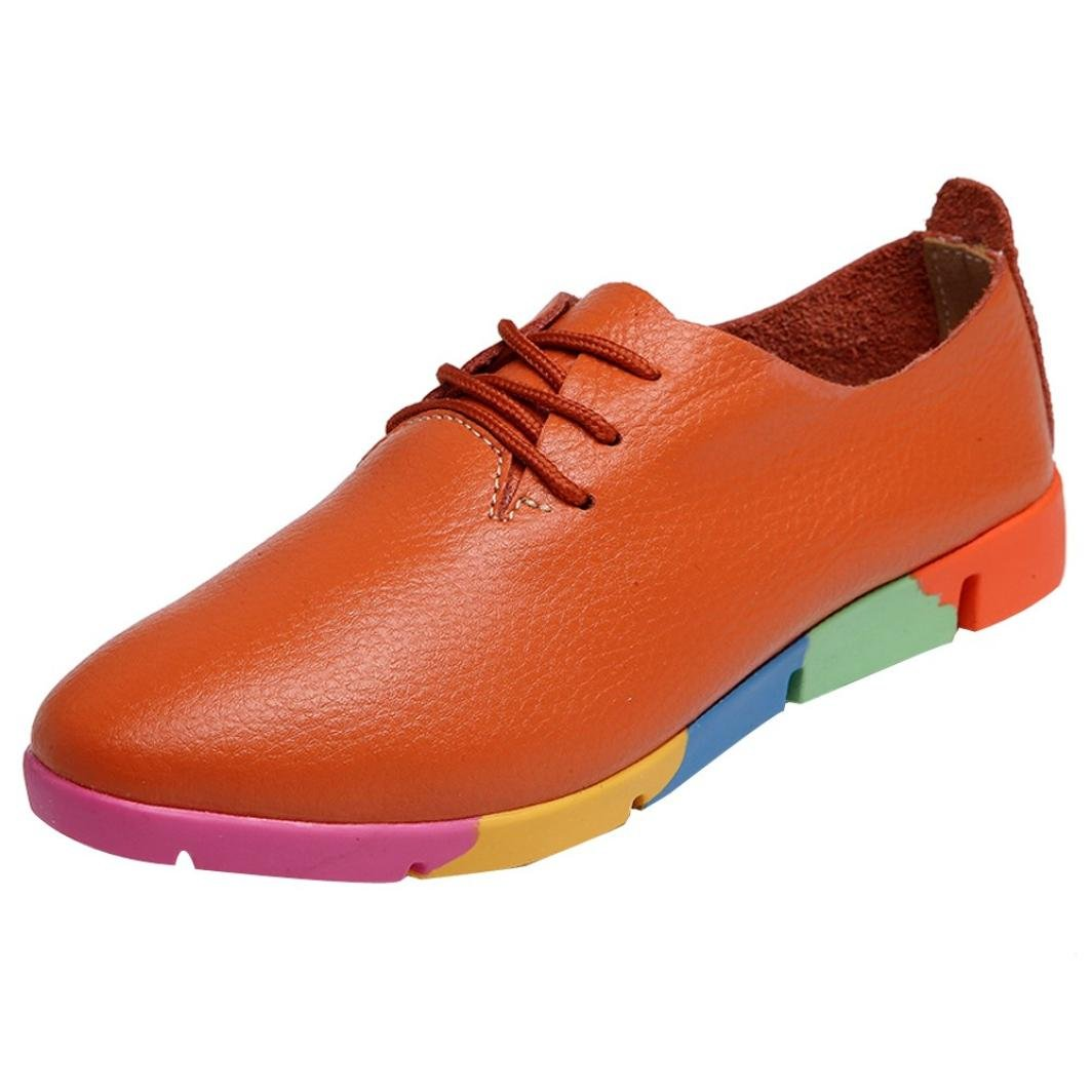 Upxiang Chaussures , Chaussures Bateau pour Upxiang Femme Femme Marron 8bb0500 - piero.space