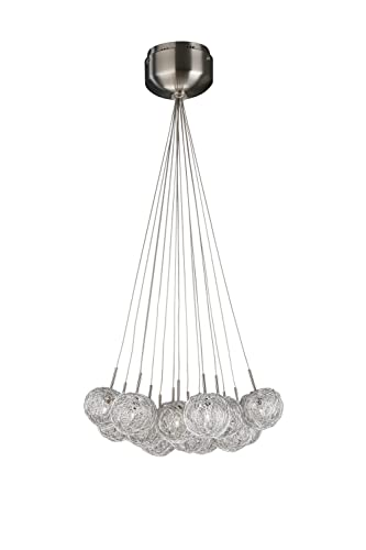 Massive 418531710 - Lámpara halógena de techo con 15 focos