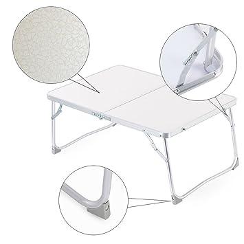 zipom soporte para portátil cama escritorio de pie, plegable portátil de mesa, sofá bandeja