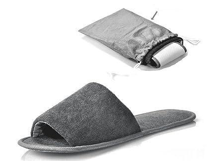 a0b813749a80e7 NewYork Portable Women S Men S Sandals Plane Sandals Spa Relax Shoes Hotel Flip  Flops Open Toe Washable
