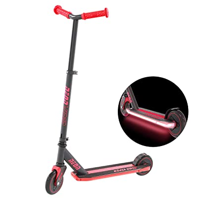 Neon Viper Kids Light Up Deck Kick Scooter for Kids Age 5 and Up : Sports & Outdoors