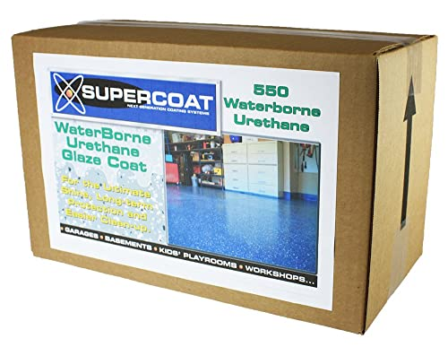 SUPERCOAT Waterborne Urethane Glaze Coat