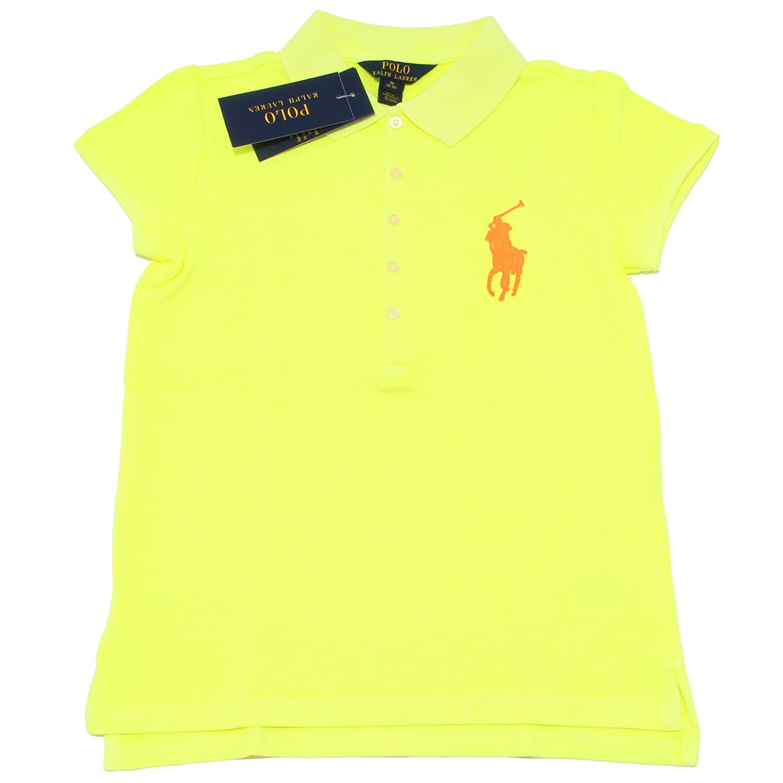 2411o Polo Ralph Lauren niña manga corta Camisetas T-shirts Kids ...