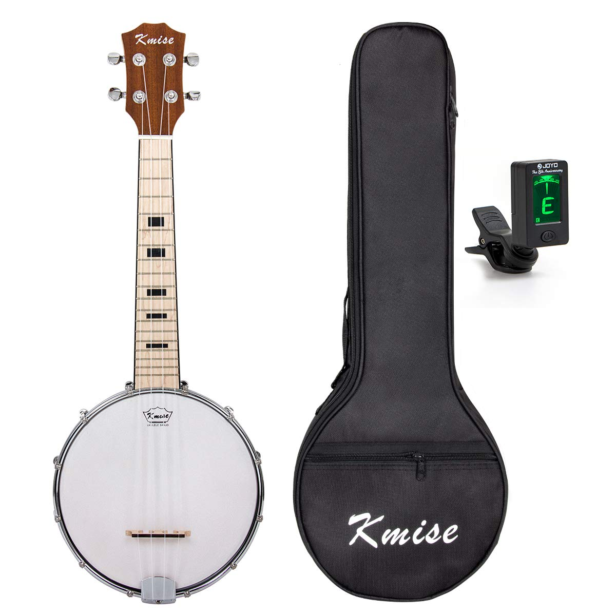 Kmise Banjo Ukulele 4 String Banjo lele Ukelele Uke Concert 23 Inch Size Maple with Bag Tuner Shenzhen Lotmusic Technologe Co. Ltd Banjolele With Bag