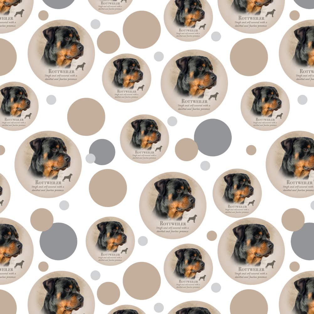 3 Sizes//Styles *Animal Dog Birthday Party Rottie NEW ROTTWEILER Wrapping Paper