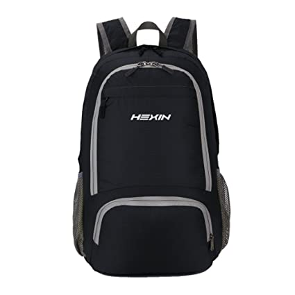 63efa28655c2 Amazon.com  HEXIN Small Backpack Travel Hiking Backpack Daypack for Outdoor  Climbing  HEXIN INC