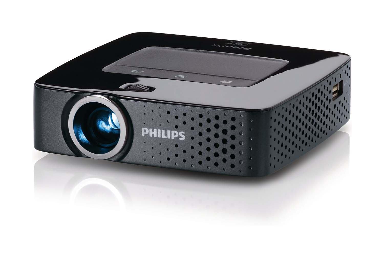 Philips PicoPix PPX3610/CN Video - Proyector (100 lúmenes ANSI ...