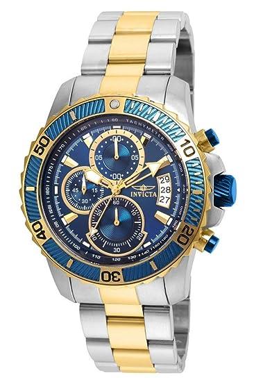 Amazon.com: Invicta Pro Diver Reloj de cuarzo para hombre ...