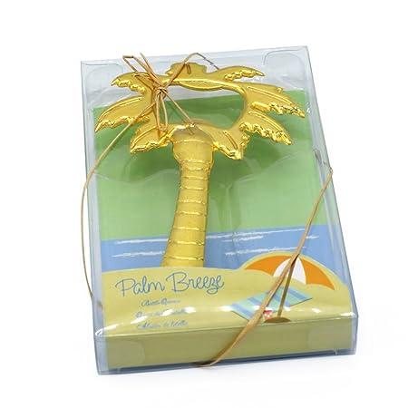 Palm Breeze Árbol de Coco con forma de botella abridor novia ducha ...