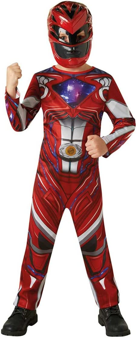 Power Rangers - Disfraz Red Ranger para niños, 5-7 años (RubieS ...