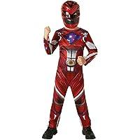 Rubie's-déguisement officiel - Saban - Déguisement Classique Power Rangers  Rouge - Taille  7-8 ans- I-630710L