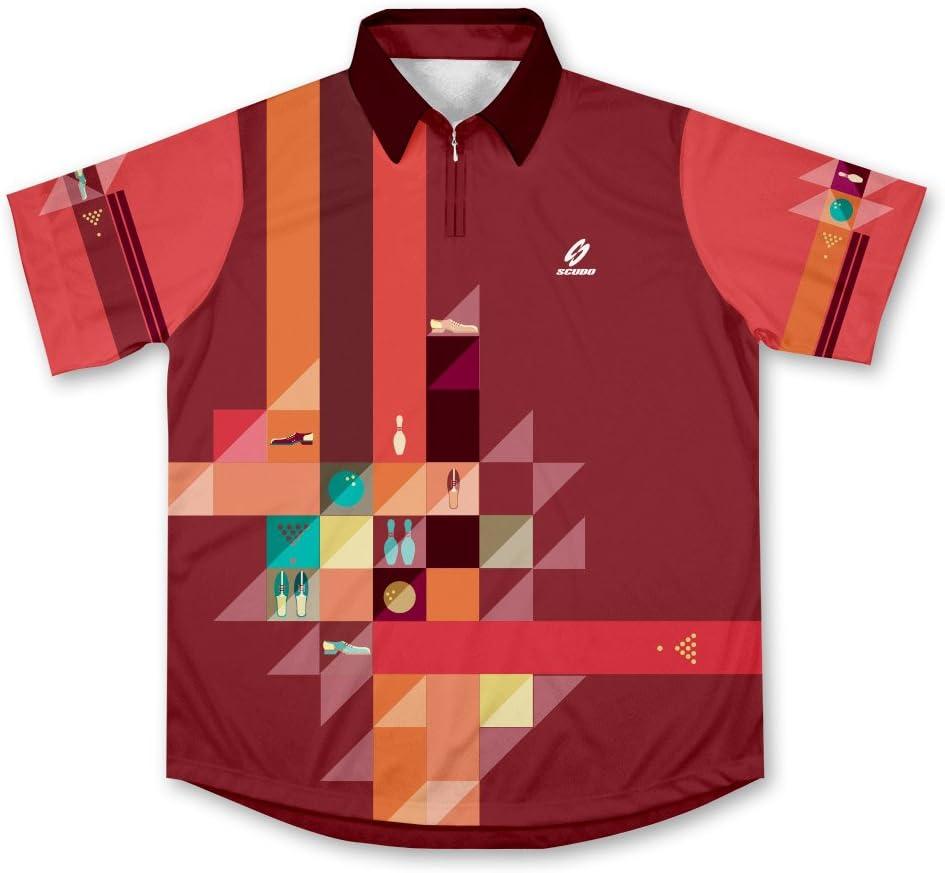 Retro Bowling Jersey Camisa de Bolos -: Amazon.es: Deportes y aire libre