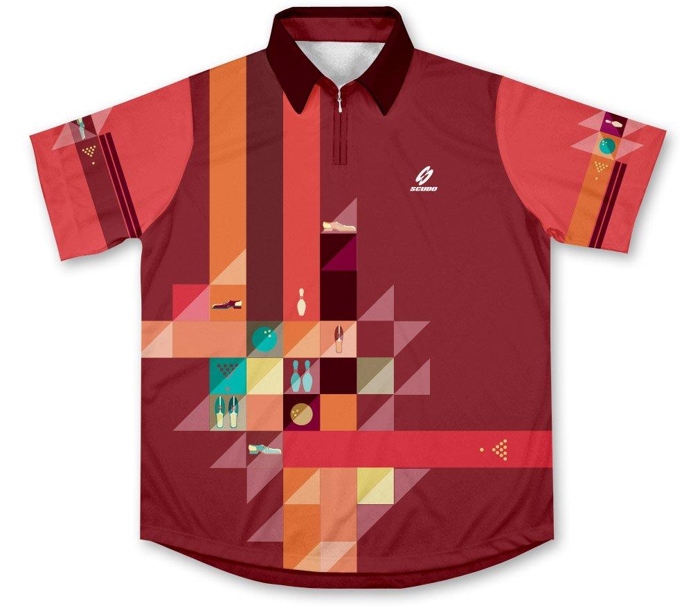 ScudoPro Retro Bowling Jersey - Size XS