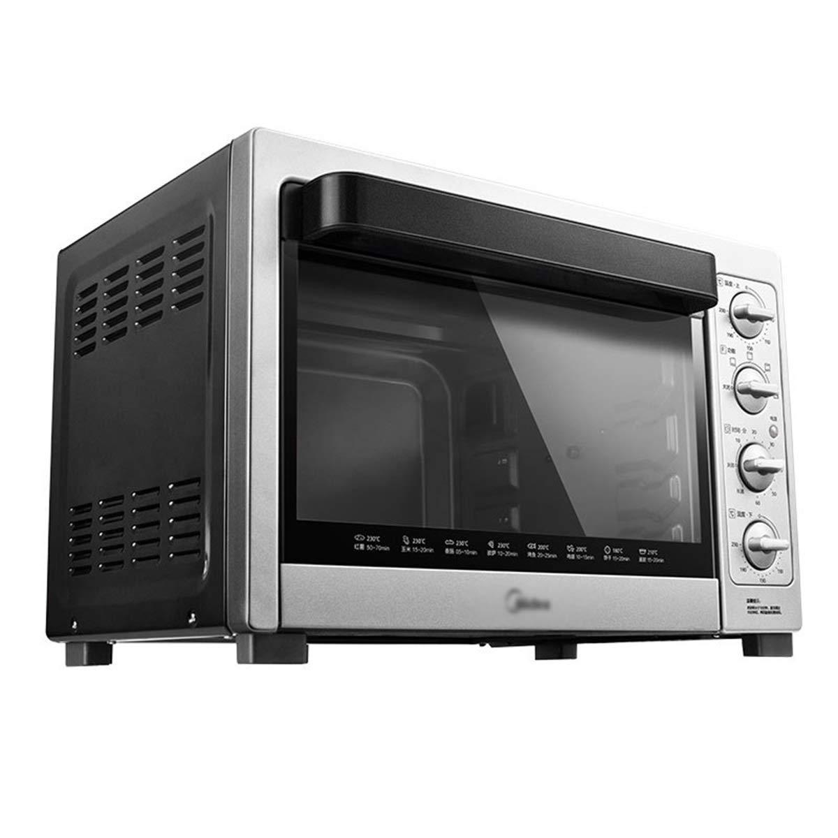 ZCYX ミニオーブン - 多機能家庭用オーブン38L容量ロータリーフォーク4層オーブン電気オーブン -7487 オーブン B07RT63SNL