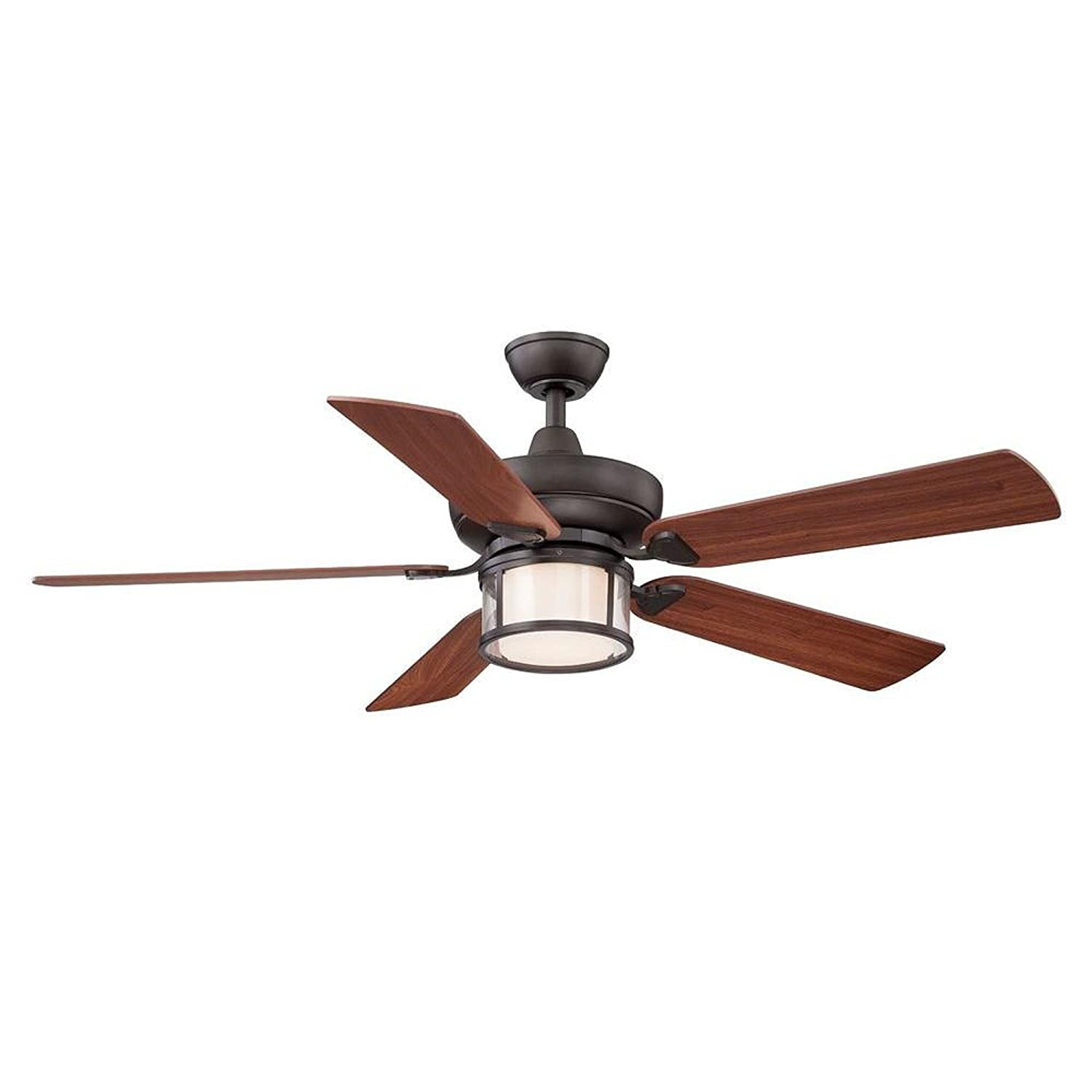 Hampton Bay Tipton Ii 52 In Oil Rubbed Bronze Ceiling Fan