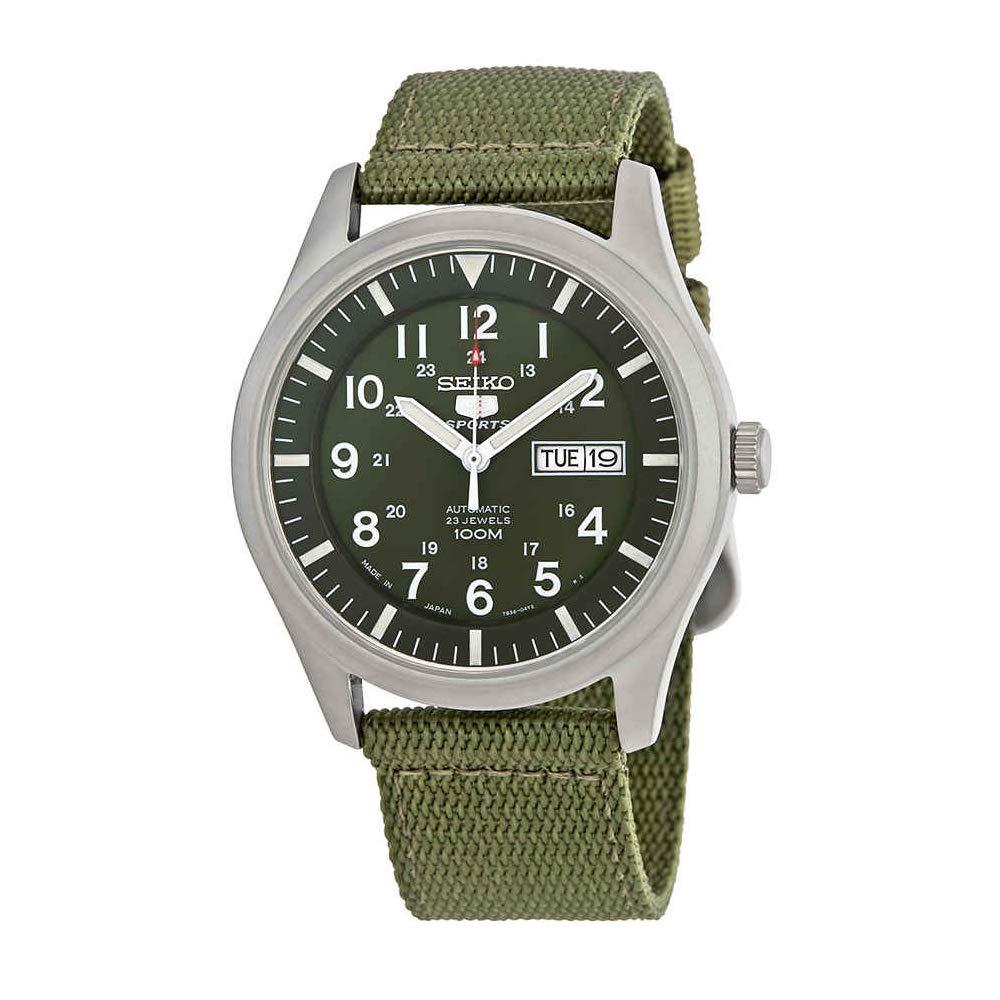 Amazon.com: Reloj automático SEIKO 5 (importación de Seiko ...