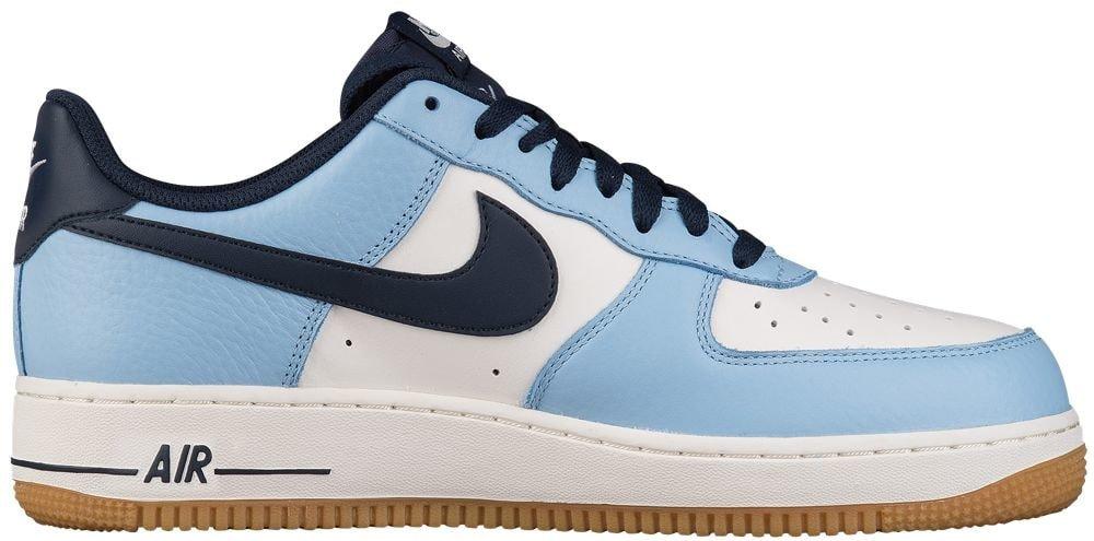 [ナイキ] Nike Air Force 1 Low - メンズ バスケット [並行輸入品] B07121VWBP US10.5 Bluecap/Obsidian/Sail/Gum Light Brown