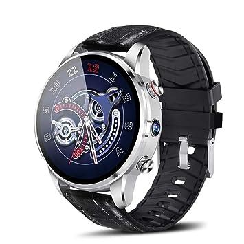 ZJH Deportes Reloj Inteligente, La Cámara GPS Masculino Smartwatch ...