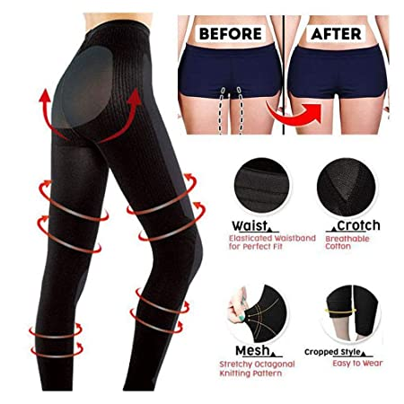 107df47eb511d Amazon.com: Valentine's Best Gifts for Women!!! Jumberri Sexy Women  Sculpting Sleep Leg Shaper Pants Breathing Stovepipe Legging Socks Body  Shaper ...