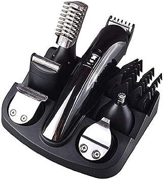 Afeitadora eléctrica/Recortadora de barba para hombre/Recortador Nariz de Pelo Múltiples Estilos Recortar Caja de Herramientas Para Uso de Adultos y Niños: Amazon.es: Salud y cuidado personal