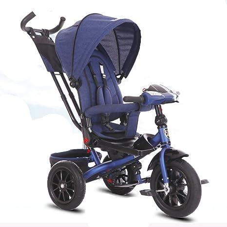&Carrito de bebé Triciclo para niños Bicicleta 1-3-5 años ...