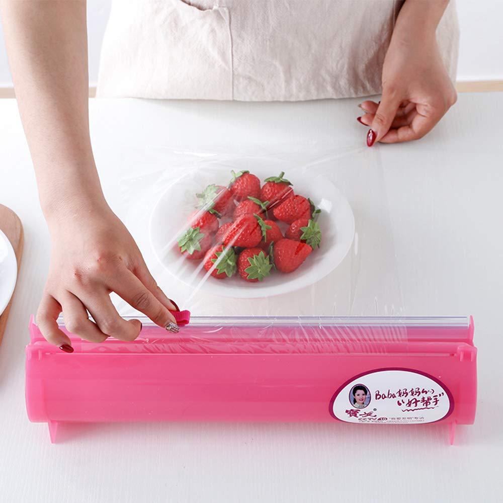 WMFL Cling Film Cutter/Box, Kitchen Accessories Aluminum Foil Roll Carton Cutter ()