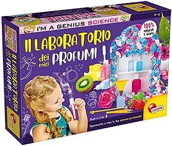 Liscianigiochi I'm a Genius Gioco per Bambini Laboratorio dei Miei Primi Profumi, 66889