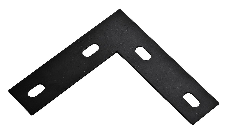 NATIONAL MFG SPECTRUM BRANDS HHI N351 505 Corner Brace 6 1 2 Inch Black