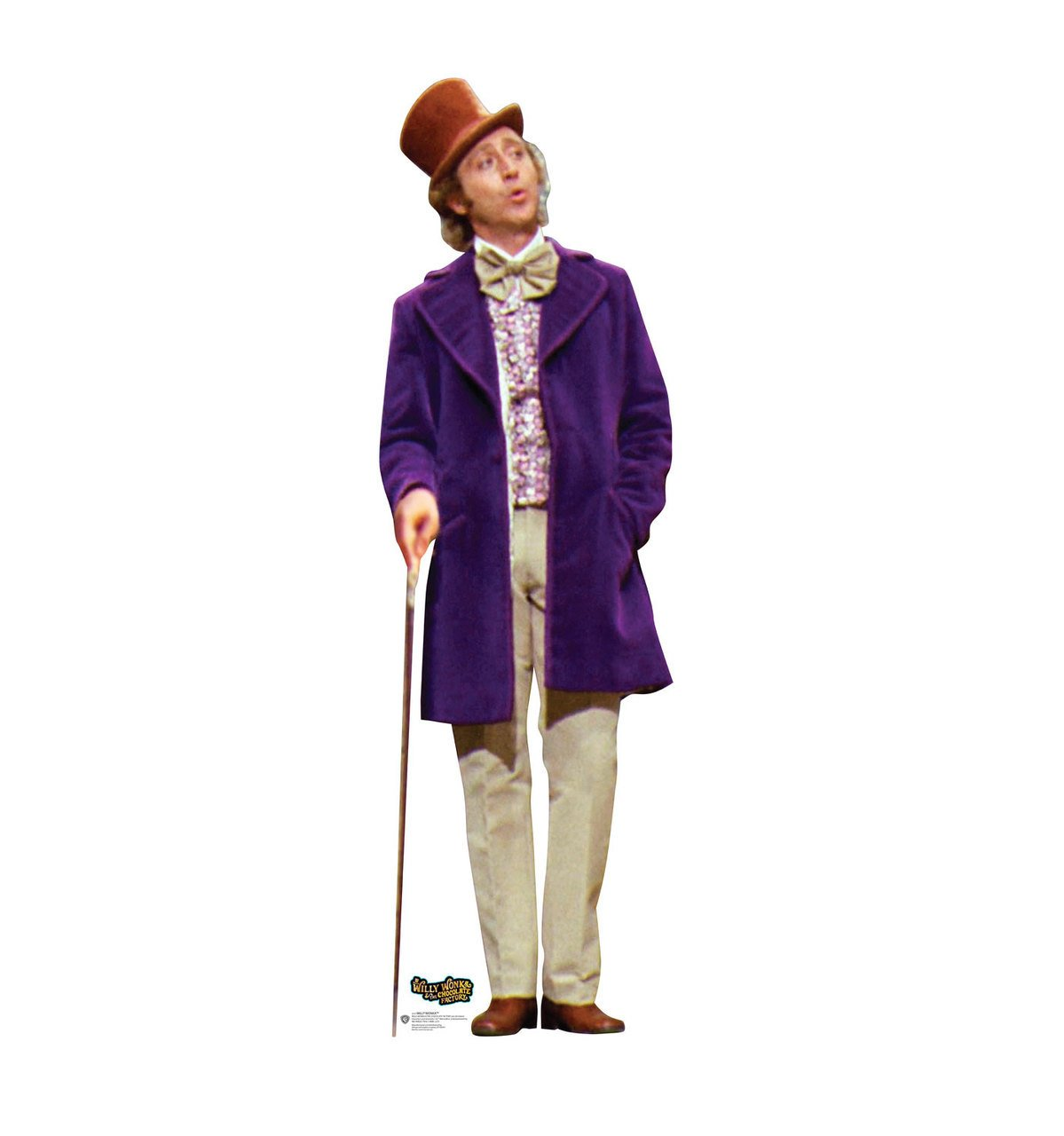 Willy Wonka - Willy Wonka & the Chocolate Factory - Advanced Graphics Life Size Cardboard Standup
